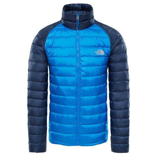 North Face Trevail Down Jacket - Bomber Blue Urban Navy 95c6e3dd2